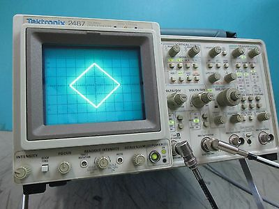 Tektronix  2467 350Mhz Oscilloscope  **frequency Counter Option**   Refurbished