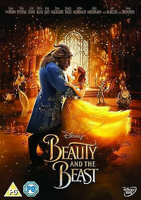 Beauty and the Beast 2017 DVD - Brand New & Sealed