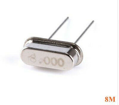 10pcs 8.000M 8MHZ Quartz Crystal Resonator Passive Oscillator HC-49S New