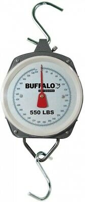 Hanging Dial Scale Holds 550 lb.For Hunter Butcher Angler Weighing Luggage Food