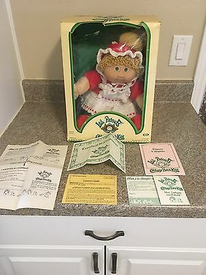 vintage cabbage patch doll in french box