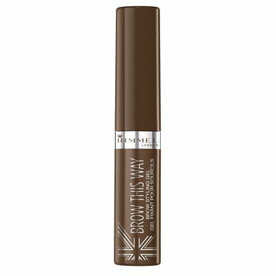 Rimmel Brow This Way Eyebrow Gel With Applicator-002 Medium Brown