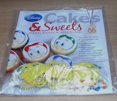 Disney Cakes & Sweets Cake Decorating Collection magazine Partwork #86