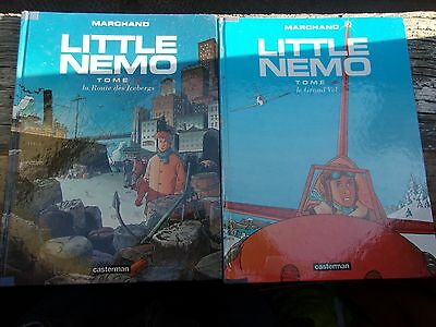 Lot 2 BD LITTLE NEMO Tome 3 : la route des icebergs Tome 4 : le grand vol  2 EO