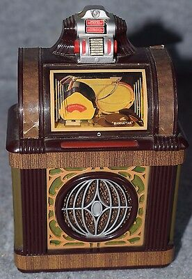 "MINI JUKEBOX ""CAPEHART PACKARD MANHATTAN""  1947  miniatura , da collezione"