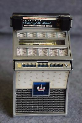 "MINI JUKEBOX  ""SEEBURG DS 160""   1962   miniatura , da collezione"