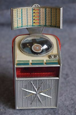 "MINI JUKEBOX  ""AMI CONTINENTAL XJCA 200""   1961   miniatura , da collezione"
