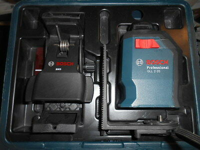 Bosch Professional  Laser level GLL 2-20 with case