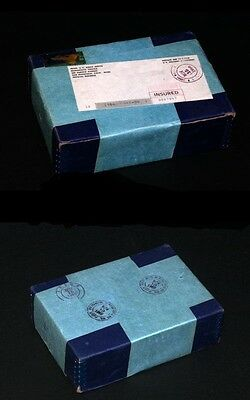 1966 Sms Sealed Unopened Shipping Box Of 10 Special Mint Sets Coin Silver Proof