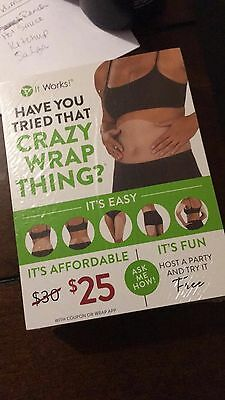 """""""NEW"""" Itworks BLITZ CARDS"""