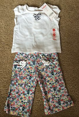 New with tags Gymboree Baby Girl outfit size 3-6 months