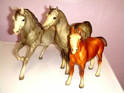 Breyer Horses Lot Of 3