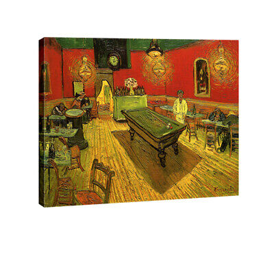 Canvas Print Wall Art Van Gogh Painting Repro Picture Home Decor Framed 12x16""