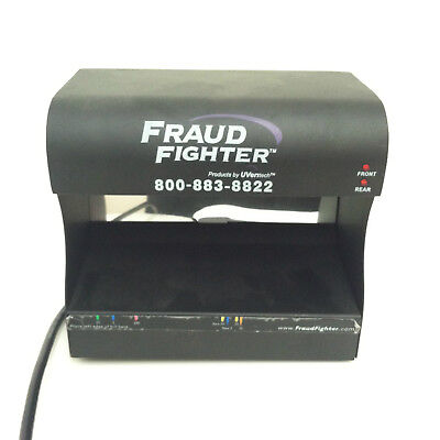 Fraud Fighter HD8X2-120A UVeritech Counterfeit Detection Scanner