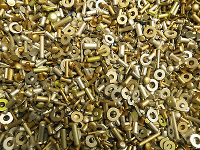 3+ lbs Solid Aircraft Rivets Mix Assorted LOT Small/Large Short/Long Hobby Craft