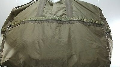 Le SportSac Olive Green Nylon Duffle GYM Weekender Carryon Travel Bag
