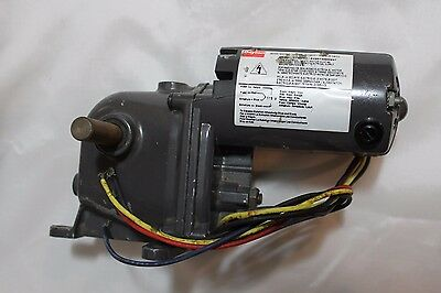 Dayton Gearmotor Right Angle Drive Model 1LY83B RPM 21 Used