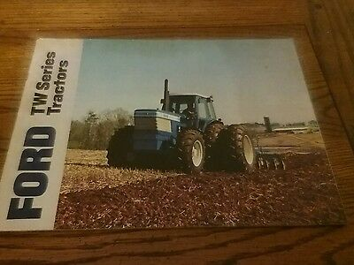 Vintage Ford TW SERIES tractors Brochure pamphlet manual Box 25
