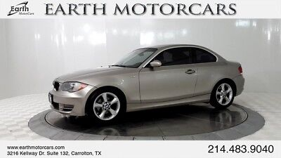 2009 BMW 1-Series Base Coupe 2-Door 2009 BMW 1 Series 128i Coupe, Heated Seats, Sunroof