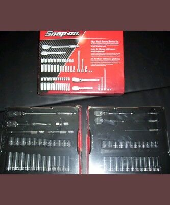 "New! Snap On 1/4"" and 3/8"" Drive Socket & Ratchet Set Flank Drive !!Great Deal!!"