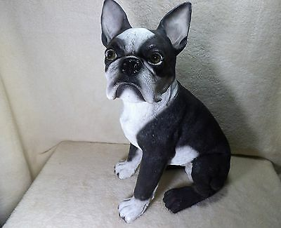dog french bull dog - very realistic - beautiful - life size