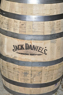 Whiskey Barrels White Oak Jack Daniels Full Size Authentic