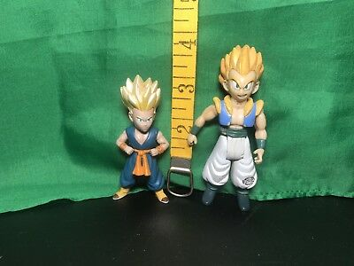 2003 JAKKS DragonBall Z DBZ Figure Lot Super Saiyan Kid TRUNKS , Gotenks