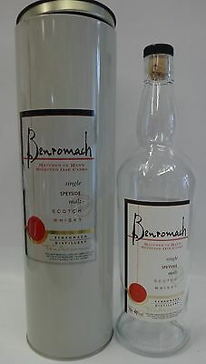 BENROMACH SCOTCH BOTTLE & BOX 750ml