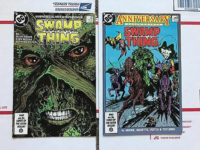 SWAMP THING #49 & #50 (DC 1986) First cameo and full app JUSTICE LEAGUE DARK