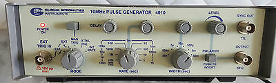 Global Specialties 10 Mhz Pulse Generator Excellent Condition!!!