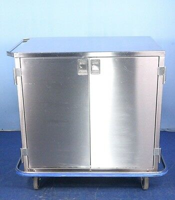 Blickman Case Cart Stainless Medical Cart with Warranty