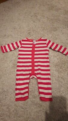 3-6 month girls Romper / summer sleepsuit