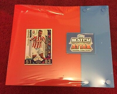 Match Attax Pro Collector Binder & Silver Limited card Shaquiri