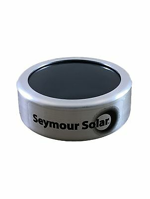 """Helios Solar Film Filter 3.75"""" (95mm). Fits 3 3/8"""" (87mm) to 3 5/8"""" (92mm)."""