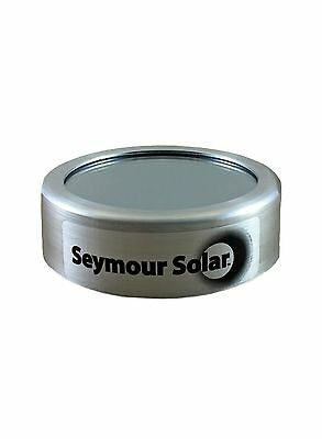 """Helios Solar Glass Filter 3.75"""" (95mm). Fits 3 3/8"""" (87mm) to 3 5/8"""" (92mm)."""
