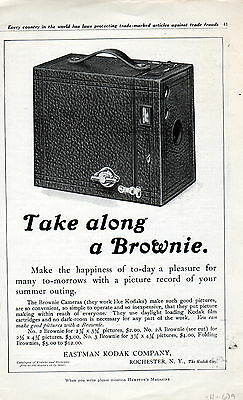 "1911 Eastman Kodak ""Brownie"" Camera ad -/679"