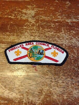 Pinellas Area Council CSP BSA Boy Scouts of America slightly used hb-147