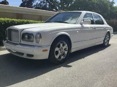 2000 Bentley Arnage Super Clean Red Label Turbo White/Tan Bentley Arnage Red Label White/Cotswold Sunroof-Chrome Wheels & CHEAP We Finance