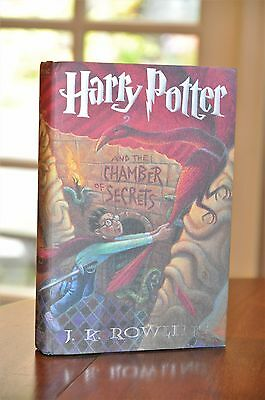 RARE True 1st Printing Harry Potter and the Chamber of Secrets J. K. Rowling