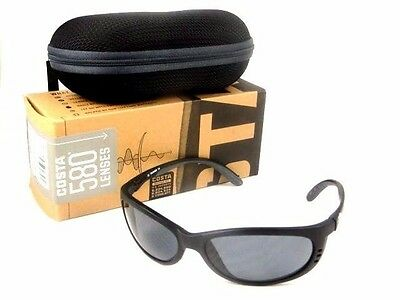 Costa Del Mar Sunglasses 580P Fathom Black Gray Fa 11 Ogp Mens, M