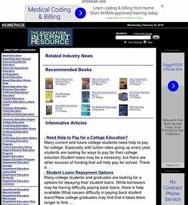 40 Different Article Websites 1 Free Domain 39 Subdomains & Hosting