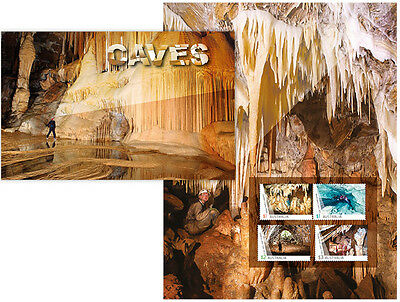2017 Caves - Stamp Pack