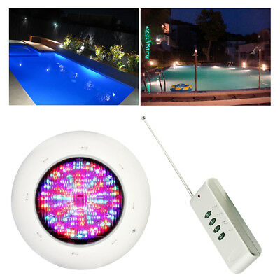 RGB 36W LED Swimming Pool Light 360leds IP68 Underwater Light w/ Remote AC 12V