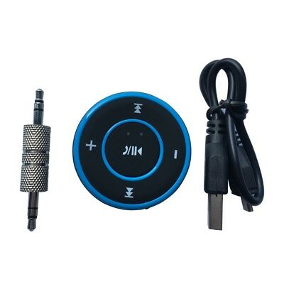 Wireless Bluetooth Audio Receiver Handsfree Car Music Adapter 3.5mm Phone Aux