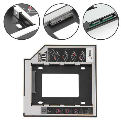 9.5mm SATA to IDE 2nd HDD SSD Hard Drive Caddy for CD / DVD Optical Bay EP8