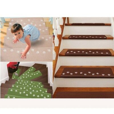 1 pcs Indoor Luminous Visual Self-adhesive Staircase Step Pad Tread Non-slip Mat