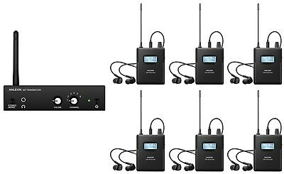 ANLEON Wireless In-ear Monitor System On-Stage Monitor System Recording Studio