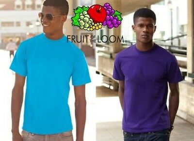 T-shirt FRUIT OF THE LOOM T-shirt VALUE SHORT sleeve jersey SHORT SLEEVES #