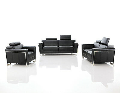 Sofa and armchairs leather aud picclick au for Couch 400 euro