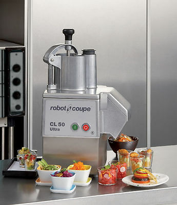 Robot Coupe CL50 OR CL50 Ultra Vegetable Preparation Machine, Discs Available+
